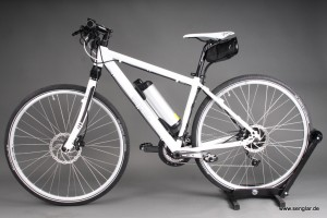 Das elegante Pedelec: Senglar-Crossrad mit nur 17,5kg