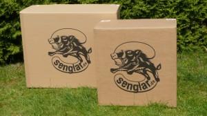 Kartons für den Senglar Umbausatz für Pedelecs