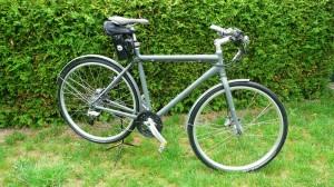 """Das """"Navy-Bike"""" im Retrostil mit Senglarantrieb"""