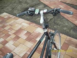 Neuer, etwas breiterer Lenker - Shimano SLX-Schalteinheiten