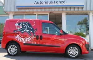 "Das neue ""Feuerrote Spielmobil"" bei Senglar"