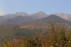 Ziel erreicht - Blick auf den Canigou