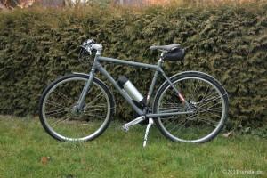 Unser Navy-Bike mit Flaschenakku