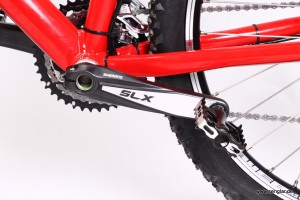 Shimano SLX-Kurbelsatz am Senglar-Pedelec
