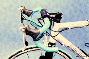 Immer wieder eine Herausforderung: Der typische Rennradlenker