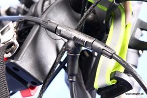 Das eingebaute Abschaltventil schaltet den Senglarantrieb beim Bremsen ab
