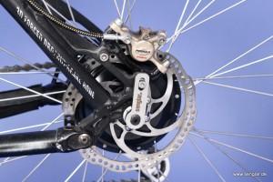Klein, leicht und stark: Der Senglarantrieb im Hinterrad