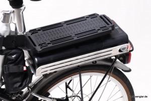 Kleines Fahrrad- ganz kleiner Gepäckträger
