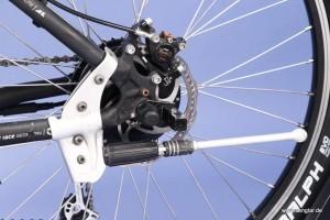Hier zu sehen: Der Senglarantrieb im Hinterrad