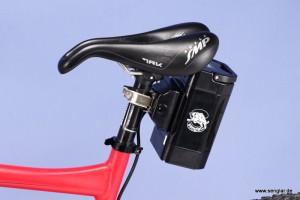 Die optimale Lösung für Fullys: Der Sattelstützenakku mit 418Wh