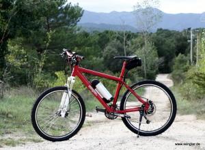 Das Senglar-Pedelec als Mountainbike: Nur 18,8kg schwer!