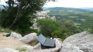 Meine (Mobil-)Funkstelle in den Pyrenäen