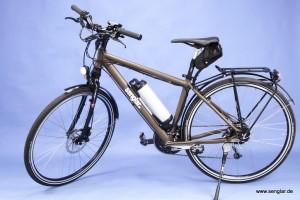 Das Senglar-Pedelec Trekking, voll ausgestattet unter 20kg und das für nur 2.599,- Euro