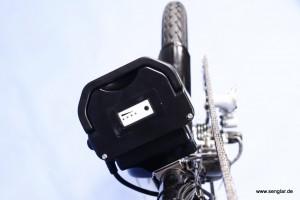 Senglar Sattelstützenakku für Handbike