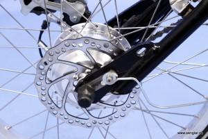 Scheibenbremse für Handbike-Pedelec oder e-Bike