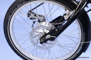 Senglarmotor macht Handbike zum e-Bike
