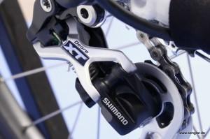Einfach schön: Das Shimano XT-Schaltwerk