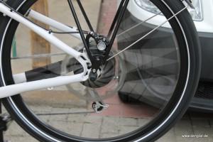 Senglar Tandem-Pedelec: Magura Scheibenbremse mit 200mm Bremsscheiben