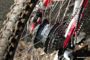 Senglarmotor- kräftiger Nabenmotor im Hinterrad