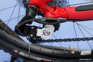 SRAM-X9 Schaltwerk für 10-fach-Kassette