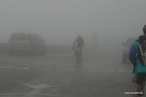 Und nun: Sehr dichter Nebel...