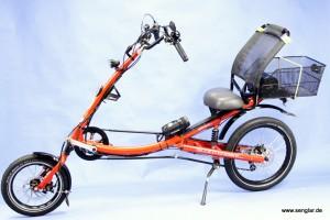 Das Scooterbike: Ein besonderes Rad wird zum Elektrofahrrad