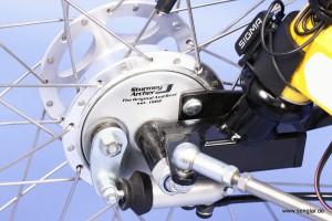 Ein technischer Leckerbissen: Hydraulische Trommelbremsen in den Vorderrädern