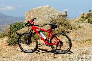 Unser Senglar – Mountainbike mit 18,8 kg.