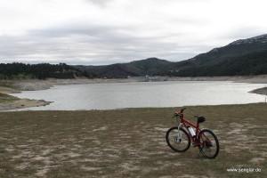 Start- und Endpunkt meiner Reise, in Staudammnähe