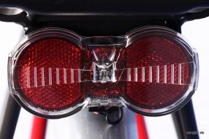 Auch bei Nacht eine sichere Sache: LED-Rücklicht von Busch&Müller