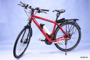 Basis ist hier unser Trekkingrad...