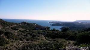 Blick über die Bucht von Cadaqués