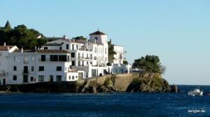 Typisch Cadaqués: Die weißen Häuser