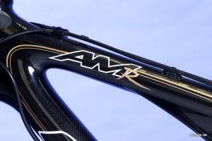 Ein gutes Beispiel für die schönen Details dieses Fahrrads