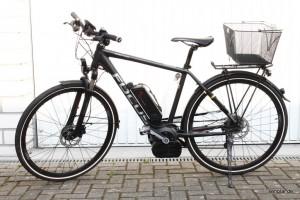 Trekking-Rad mit Boschantrieb: Dieses hier wiegt 23,67kg