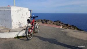 An einem der östlichsten Punkte des spanischen Festlands...