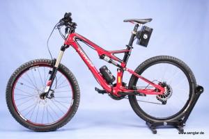 Das Specialized Stumpjumper wird durch Senglar zum e-Bike/Pedelec