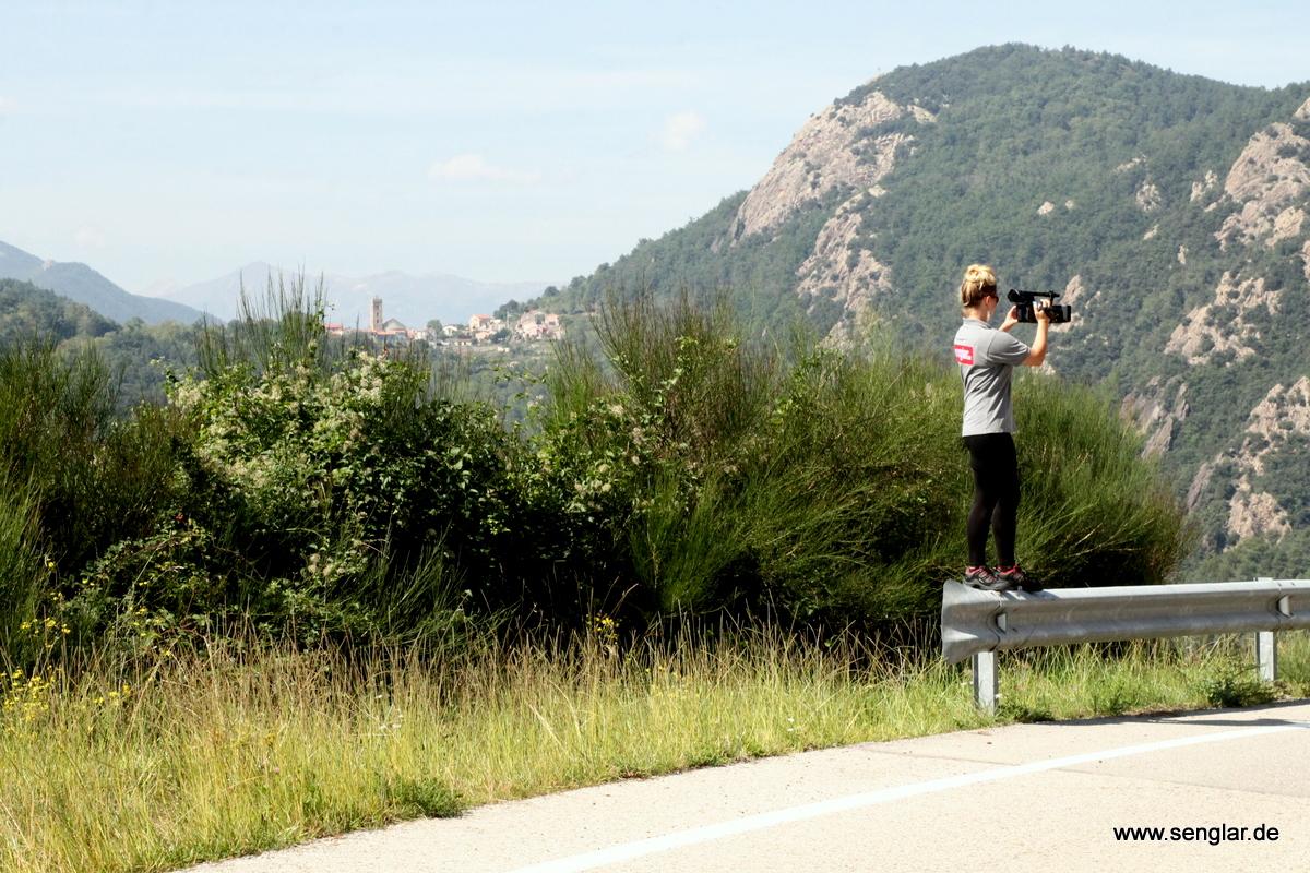Und immer mit dabei: Unsere Kamera für Senglar.tv.