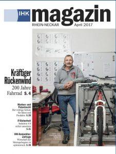Der Titel des Magazins der IHK Rhein-Neckar (Foto: Christian Buck)